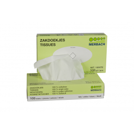 Tissues / zakdoekjes 100 st.